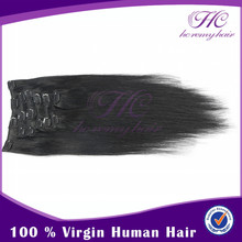 Best Selling Products For Women Clip In Hair Extension 8-30Inch Indian Wavy Hair Remy