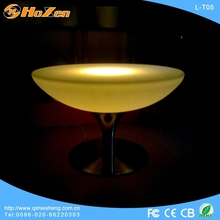 2014 newly design led bar furniture rechargeabled illuminated target bar table