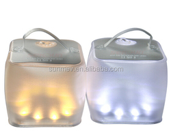 Fold waterproof outdoor and emergency light with high power,Waterproof PVC enclosure suits all weather condition