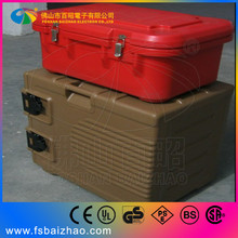 Rotomolded aluminum diamond plate ice beer cooler box with chair
