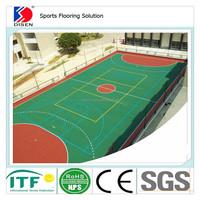 Muti-purpose Sports Flooring Badminton / Basketball Court