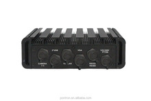 smart fanless design industrial mini rugged box PC Support DC12V power supply