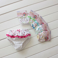 little girl lace cotton kids underwear kid girl model underwear