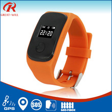 2015 New wrist watch gps tracking device for kids/gps running watch