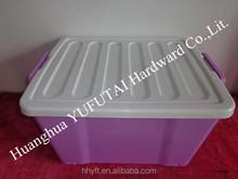 2015 hot plastic storage box with lock
