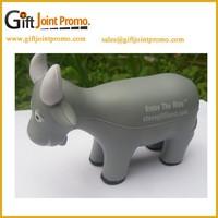 China Manufacturer Animal Shaped PU Foam Stress Ball, Custom Goat Stress Reliever