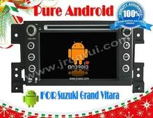 FOR SUZUKI Grand Vitara Android 4.4 car navigation head device,Multimedia ,3G,wifi,support back up camera