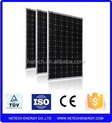 export solar panel 290w monocrystalline from china on alibaba