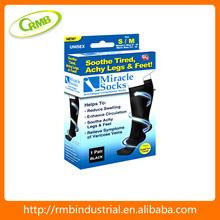 calcetines elásticos de nylón