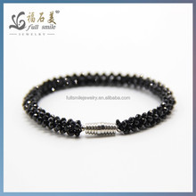 Factory price Natural Black Spinel Stones Beads