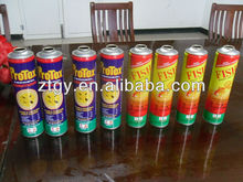 45/52/57/65 packaging boxes tin aerosol can