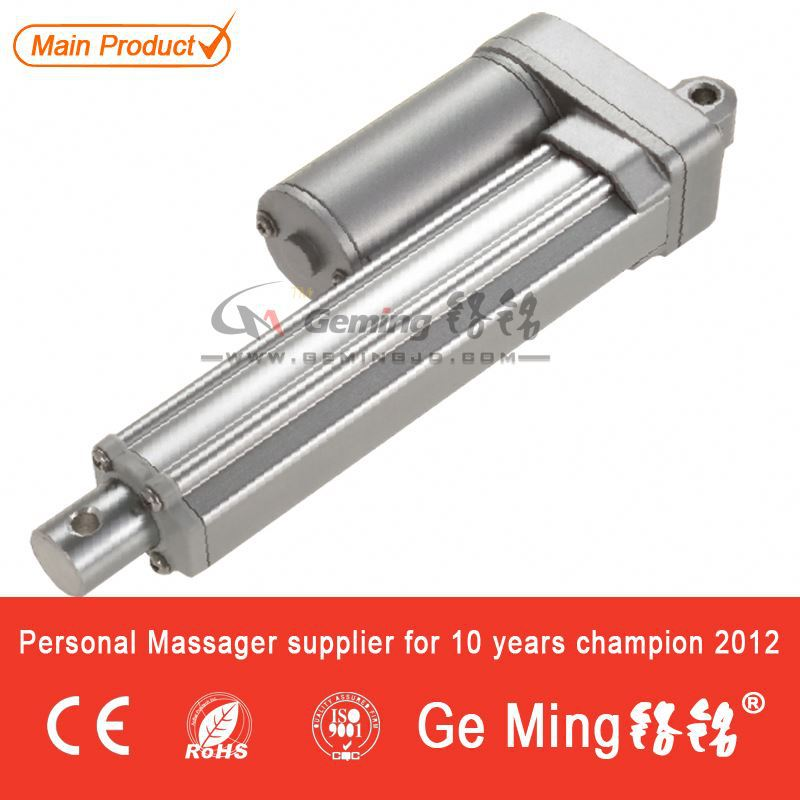 Micro Electric Linear Motor 24volt Fast Speed Worm Gear