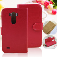 new pouch stand with credit card slots cover flip leather case for lg g3