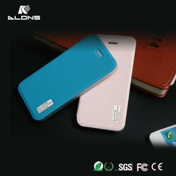 OEM Luxury Soft Leather Flip Cover For iPhone 4/4s,Shochproof PU Flip Leather Cover for iPhone 4/4s