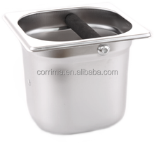 hot sale stainless steel slag pot for coffee machine/coffee maker spare parts