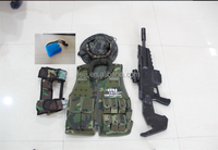 Laser tag guns and shooting game equipments CS equipments indoor and outdoor combat vest battle alive lazer tag gun