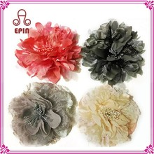 Fashion fabric flower hair decoration - cheap oversized brooches