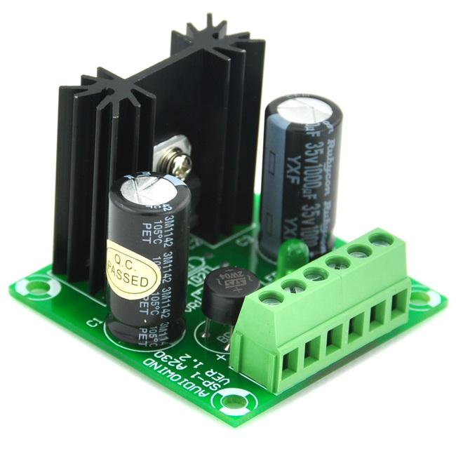 1a standard positive voltage regulator