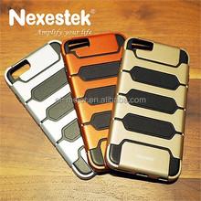 Nexestek Sporty Ultra-slim PC + TPU celulares for iphone 6 case