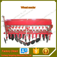 Farm tractor mounted disc wheat drill seed planter for sale
