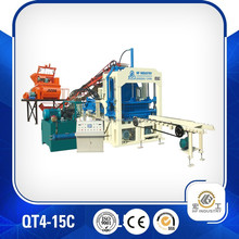 QT4-15C automatic brick machine,brick making machine price list