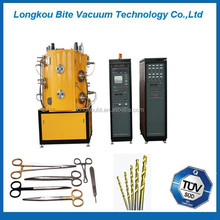 Surgical parts titanium nitride coating equipment/Stainless Steel magnetron sputtering coating machine