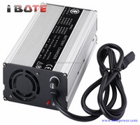 silver lithium battery charger aluminum shell 500W 48V li-ion battery Charger 10A output current power supply