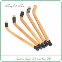 2015 wood stick shape hockey ball pen