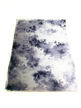 polyester printed modern fashion rug