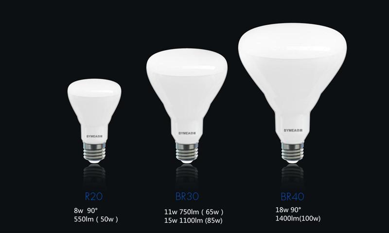 Wholesale Bymea Lighting 18W 1100lm UL BR40 BR30 with UL,ES, CUL, FCC, View UL BR40 BR30 , Bymea ...