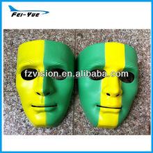 New Design Hip hop Mask green yellow color Dance ball Mask