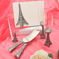 Paris Eiffel Tower Wedding Accessory Set