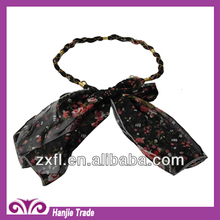 2014Newest style Guangzhou Hot Sale Stylish Flower Fabric Belts for Dress in Wholesale