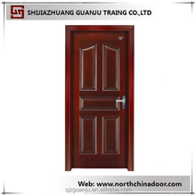 2015 continued hot solid wood frame Chinese fir/cherry/oak/teak/walnut interior solid wood door