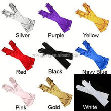 2015 Custom colorful Prom Gloves