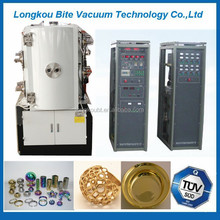 dental crown/tooth socket gold pvd coating machine,tooth socket gold coating system,dental crown gold pvd coating machine