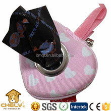 Durable Heart Shaped Custom Dog Poop Bag Dispenser Other Pet Products