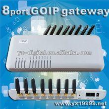 Call terminal 1/4/8/16 channels VOIP GSM Gateway goip 8 ports goip voip flash