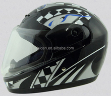 full face motorcycle helmets sports riding helmets with visor DOT CE