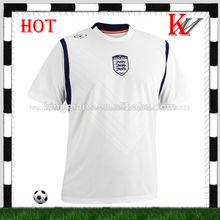 personalizado nombre del equipo de ventas al por mayor blanco normal jersey de fútbol