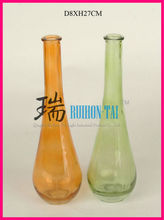 Hot selling color glass mini vases for sale(No.1518)