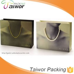 2015 Fashion High Quality Packaging Box Jewelry Paper Shopping Bags