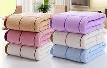 new product for 2015 Urumqi cotton velvet stripe blanket gift