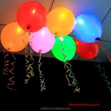 Party decoration custom logo printed led balloon wholesale