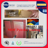 Free sample electrostatic Spray powder coated MDF powder coating made in china