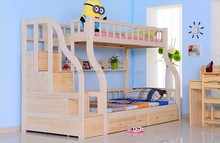 2014 new type wooden bunk bed for kids