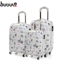 BUBULE PC bag suitcase ziplock bag aluminum handle luggage trolley case