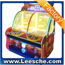 LSJN-082 NEW arrival coin operated basketball shooting machine for game center
