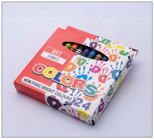 24 Color Wax Crayon High Quality Mix Color For Children
