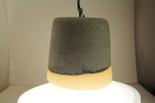 china supplier simple style modern concrete pendant lamp/concrete pendant light large of cong